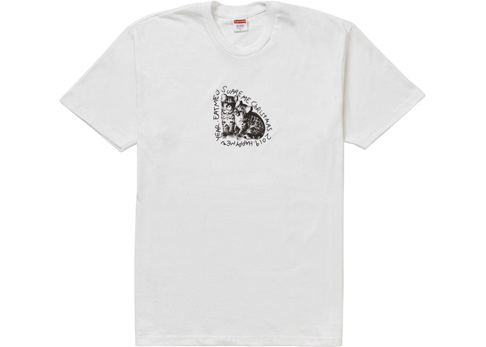 SUPREME - EAT ME TEE (WHITE)