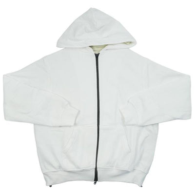 FOG/PACSUN - ESSENTIALS THERMAL FULL ZIP (WHITE)[USED]