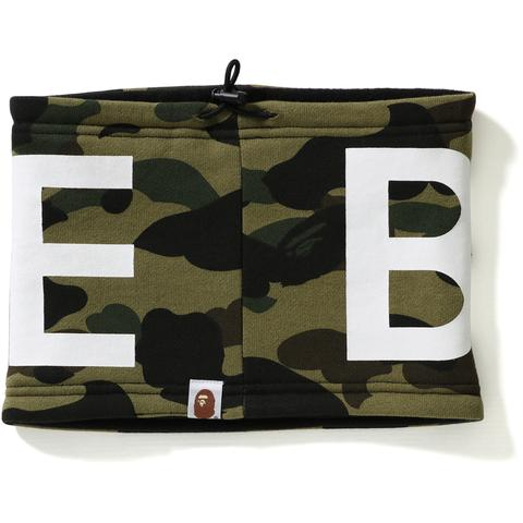 BAPE - 1ST CAMO NECK WARMER (GREEN)
