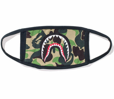 BAPE - ABC CAMO SHARK MASK (GREEN)