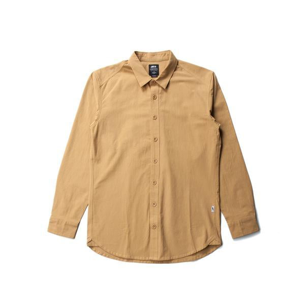 PUBLISH - GREKO BUTTON UP (NATURAL)