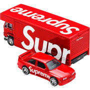 SUPREME/HOT WHEELS - FLEET FLYER + 1992 BMW M3