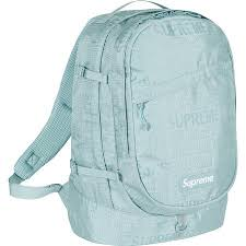 SUPREME - BACKPACK S/S '19 (ICEY BLUE)