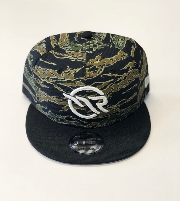 "MAGNOLIA PARK / NEW ERA - 9FIFTY ""OG LOGO"" TIGER CAMO SNAPBACK (BLACK)"