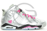 AIR JORDAN RETRO 6 (GS) - FOR THE LOVE OF THE GAME [USED]