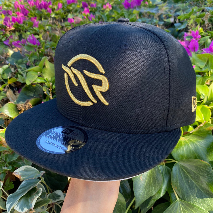 "MAGNOLIA PARK / NEW ERA - 9FIFTY ""OG LOGO"" SNAPBACK (BLK/GOLD)"