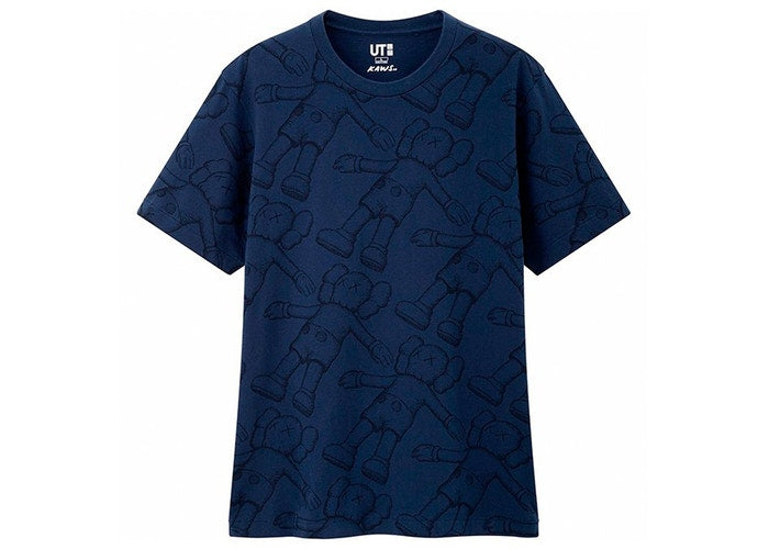 UNIQLO/KAWS - ALL OVER HOLIDAY PRINT TEE (BLUE)