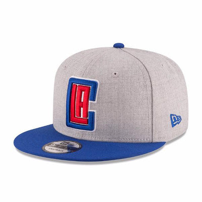 NEW ERA - 9FIFTY LOS ANGELES CLIPPERS SNAPBACK (GREY)