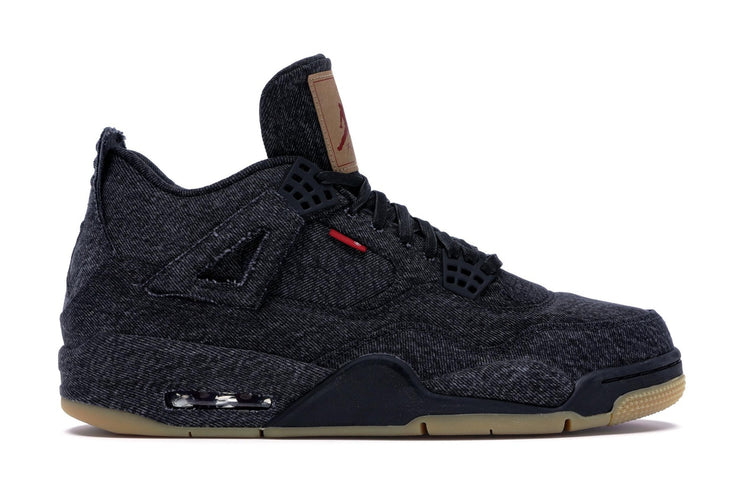 AIR JORDAN RETRO 4 LEVI'S NRG - BLACK DENIM (BLANK TAG)