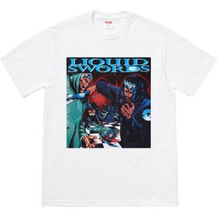 SUPREME - LIQUID SWORDS TEE (WHITE)