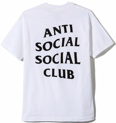 ANTI SOCIAL SOCIAL CLUB - LOGO TEE 2 (WHITE)