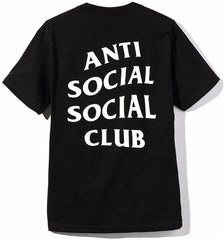 ANTI SOCIAL SOCIAL CLUB - LOGO TEE 2 (BLACK)