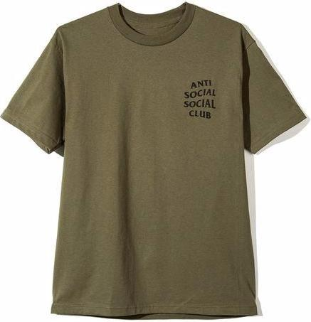 ANTI SOCIAL SOCIAL CLUB - LOGO TEE 2 (MILITARY GREEN)