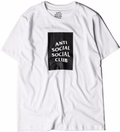 ANTI SOCIAL SOCIAL CLUB - CLUB TEE (WHITE/BLACK)