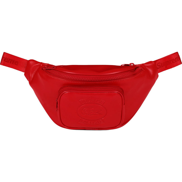 SUPREME/LACOSTE - WAIST BAG (RED)