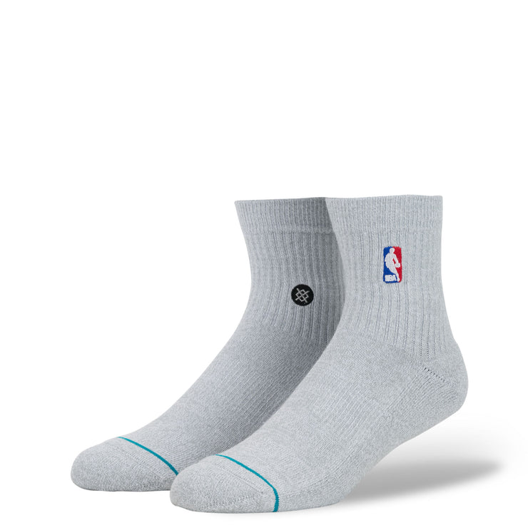 STANCE - NBA LOGOMAN QTR (HEATHER GREY)