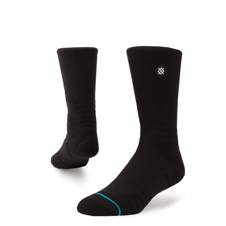 STANCE - HOOPS ICON QTR (BLK)