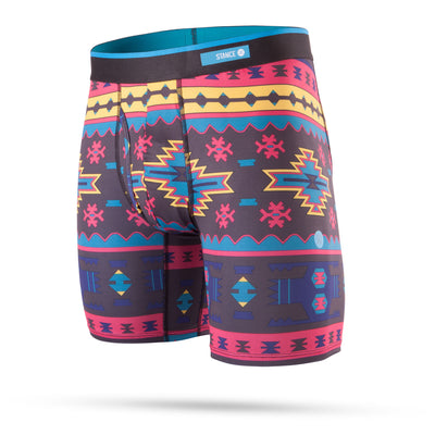 STANCE BOXER BRIEFS - STATION (BLK)