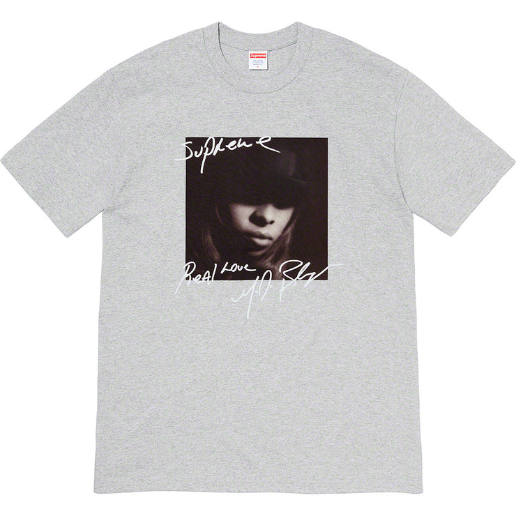 SUPREME/MARY J. BLIGE - TEE (HEATHER GREY)