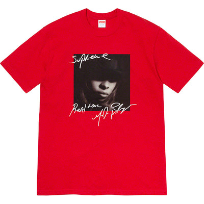 SUPREME/MARY J. BLIGE - TEE (RED)