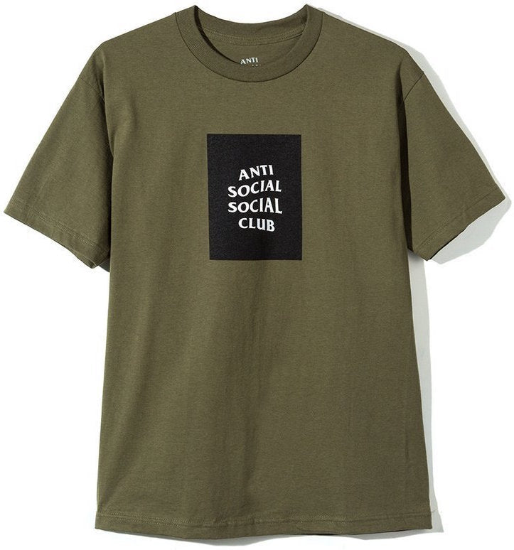 ANTI SOCIAL SOCIAL CLUB - CLUB TEE (MILITARY GREEN)