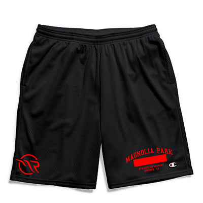 MAGNOLIA PARK - MAG CHAMPION SHORT (BLK/RED)