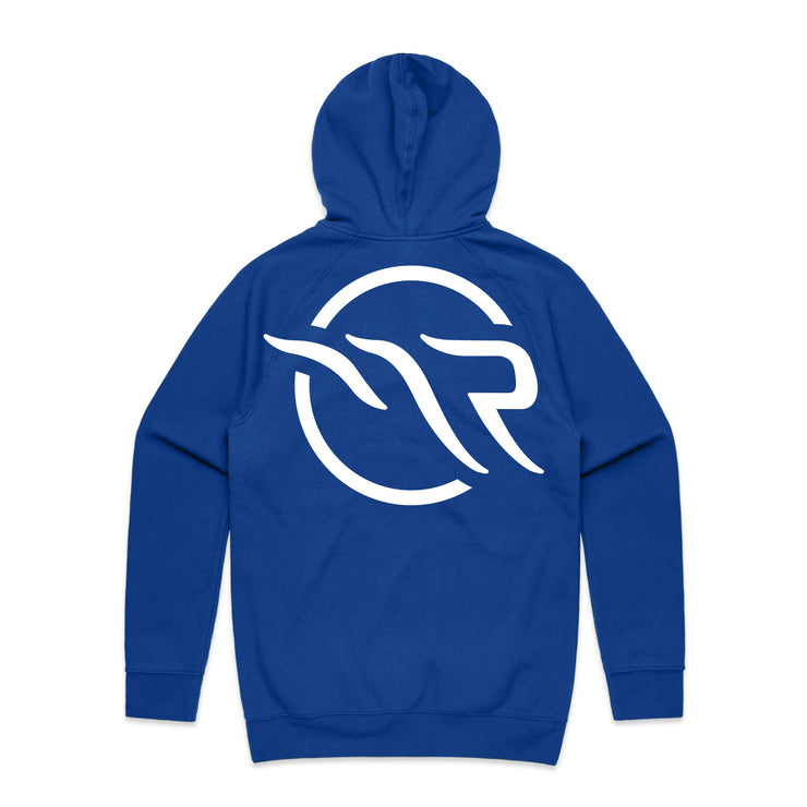 MAGNOLIA PARK X CHAMPION - TOUR '19 HOODIE (ROYAL/WHITE)