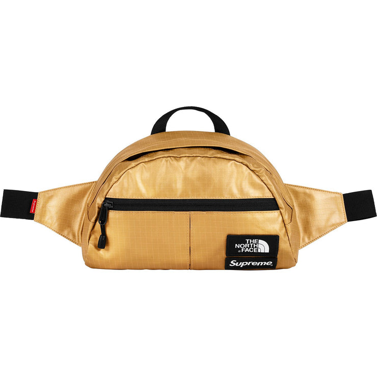 SUPREME/THE NORTH FACE - METALLIC WAIST BAG (GOLD)