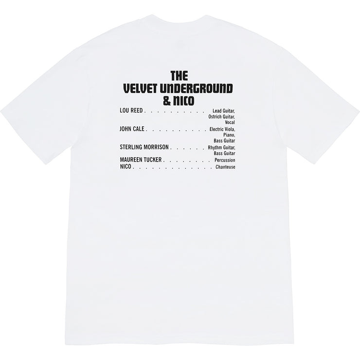 SUPREME/THE VELVET UNDERGROUND & NICO - TEE (WHITE)