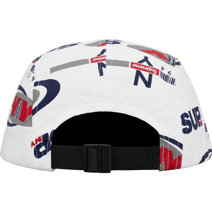 SUPREME - NY CAMP CAP (WHITE)