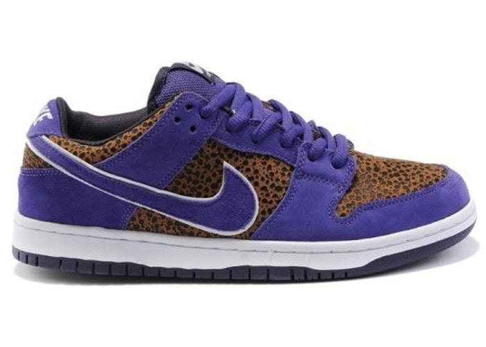NIKE SB - DUNK LOW (PURPLE SAFARI) [PREOWNED]
