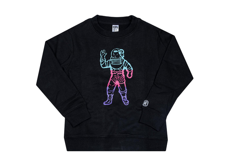 BILLIONAIRE BOYS CLUB (KIDS) - BB NEOPOLITIAN L/S CREW (BLACK)