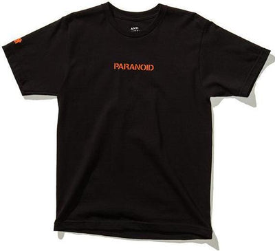 ANTI SOCIAL SOCIAL CLUB/UNDEFEATED - PARANOID TEE (BLACK)