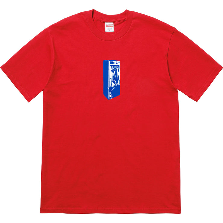 SUPREME - PAYPHONE TEE (RED)