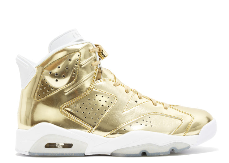 AIR JORDAN RETRO 6 PINNACLE - GOLD