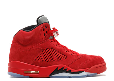 AIR JORDAN RETRO 5 - RED SUEDE [USED]