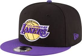 NEW ERA - 9FIFTY LOS ANGELES LAKERS SNAPBACK (BLK/YLW)