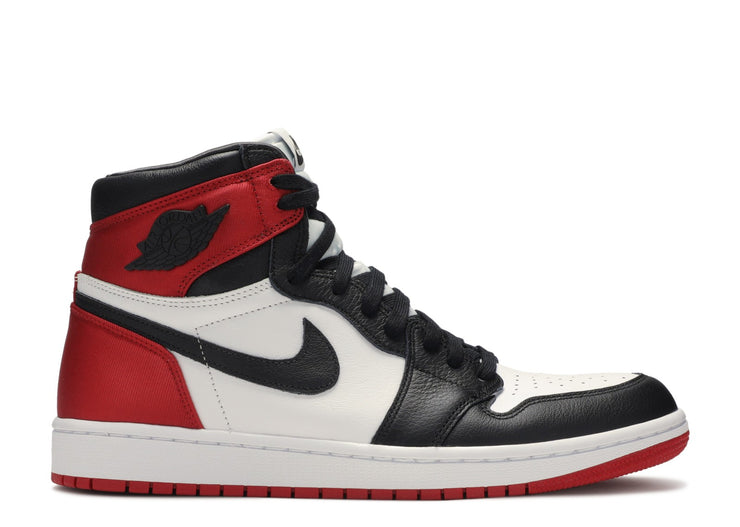 WMNS AIR JORDAN RETRO 1 HIGH OG - SATIN BLACK TOE