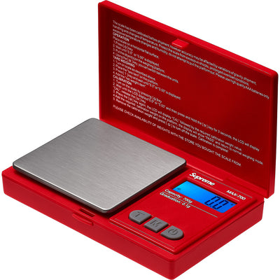 SUPREME/AWS - MAX 700 DIGITAL SCALE (RED)