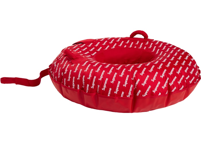 SUPREME - SNOW TUBE (RED)