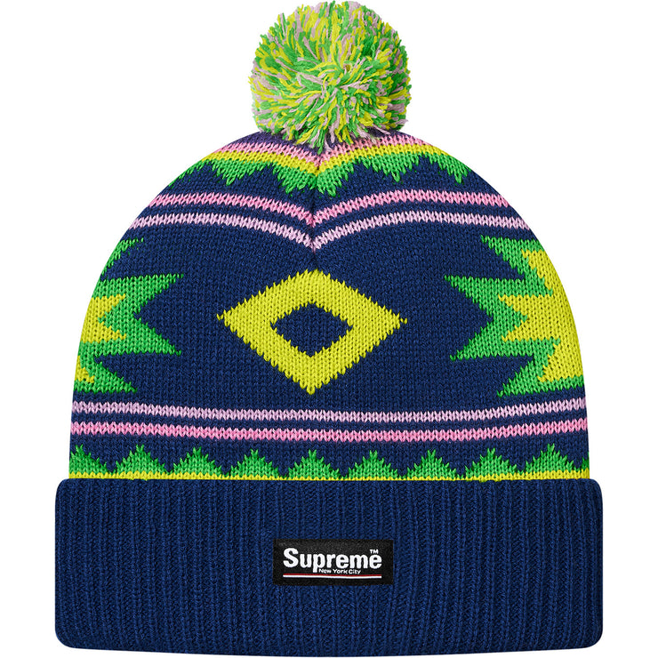 SUPREME - SOUTHWEST BEANIE (NAVY)