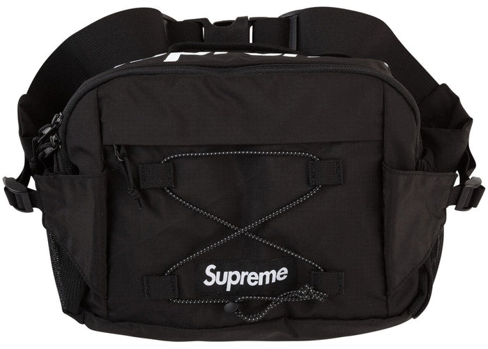 SUPREME - S/S 17 WAIST BAG (BLACK)