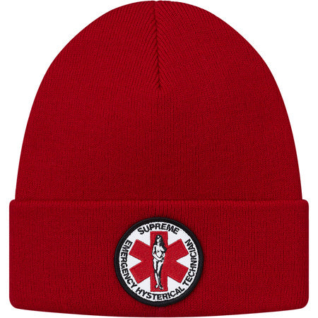 SUPREME HYSTERIC GLAMOUR - BEANIE (RED)  9134a7cfd5e
