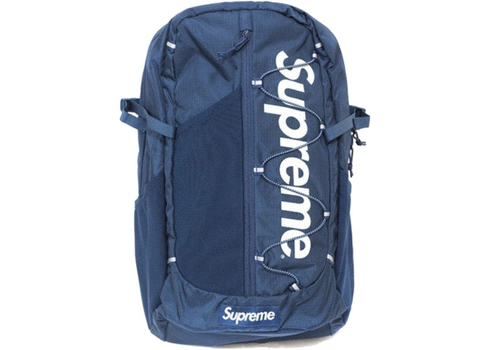 SUPREME - S/S 17 BACKPACK TEAL (USED)