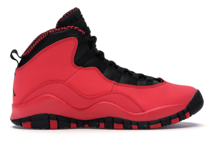 AIR JORDAN RETRO 10 - FUSION RED ( GS ) USED