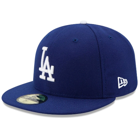 NEW ERA - 59FIFTY LOS ANGELES DODGERS FITTED HAT (ROYAL)