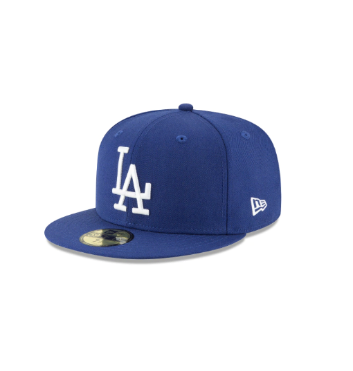 NEW ERA - 59FIFTY LOS ANGELES DODGERS 1958 COOPERSTOWN FITTED (ROYAL)