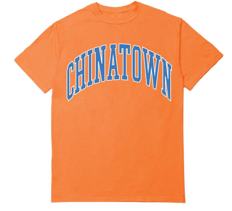 CHINATOWN MARKET - ARC T-SHIRT (ORANGE)