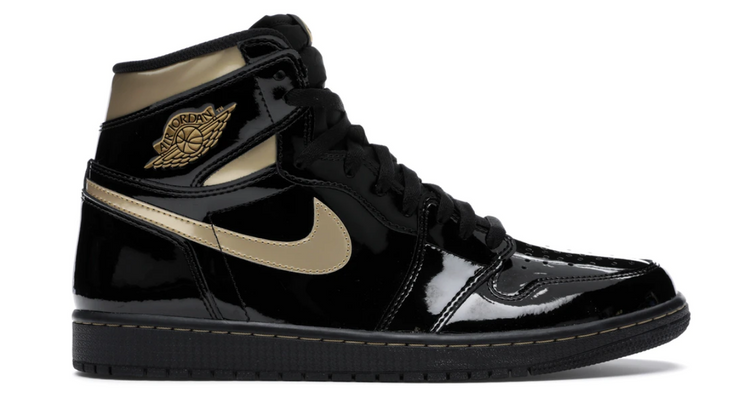 AIR JORDAN 1 RETRO HIGH OG - BLACK METALLIC GOLD (GS)