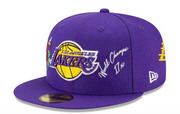 NEW ERA 59FIFTY - LOS ANGELES LAKERS/SP21 ICON 2.0 FITTED CAP (PURPLE)
